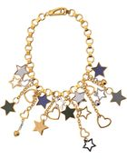 Marc By Marc Jacobs Cluster Star Bib Bracelet - Lyst