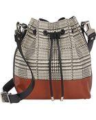 Proenza Schouler Houndstooth Medium Bucket Bag - Lyst