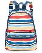 LeSportsac Basic Striped Backpack - Lyst
