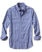 Banana Republic Slim-Fit Checkered Utility Shirt - Lyst
