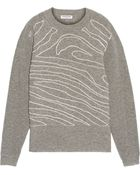 Opening Ceremony Wool Intarsia Sweater - Lyst
