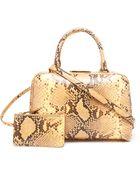 Simone Rocha Python Effect Leather Doctors Bag - Lyst