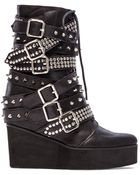 Jeffrey Campbell Lucius Embellished Boot - Lyst