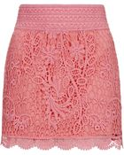 Topshop Crochet Mini Skirt - Lyst