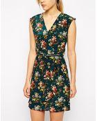 Oasis Primrose Printshift Dress - Lyst