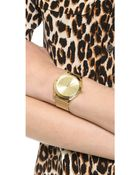 Michael Kors Vintage Glam Slim Runway Watch Gold - Lyst