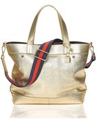 Tommy Hilfiger Th Signature Convertible Tote - Lyst