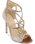 Ivanka Trump Hatla Evening Sandals - Lyst