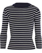 Nlst Sailor Striped Merino Wool Sweater - Lyst