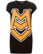 Love Moschino Oversized Logo Sweater - Lyst