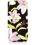 Topshop Floral Iphone 5 Case - Lyst