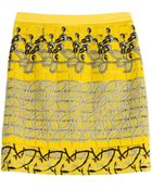 Etro Embroidered Skirt - Lyst