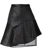 MSGM Asymmetric Pencil Skirt - Lyst