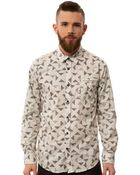Ezekiel The Starlight Ls Woven Buttondown - Lyst
