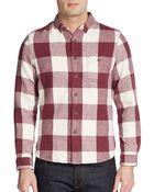 Life After Denim Regular-Fit Grisworld Cotton-Blend Shirt - Lyst
