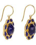 Irene Neuwirth Gemstone Floral Drop Earrings - Lyst