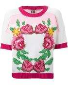 Isola Marras Floral Intarsia Sweater - Lyst