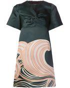 N°21 Wave Print Dress - Lyst