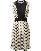 Proenza Schouler Woven Pleated Dress - Lyst