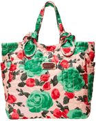 Marc By Marc Jacobs Pretty Nylon Jerrie Rose Medium Tate - Lyst