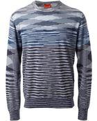 Missoni Woven Sweater - Lyst