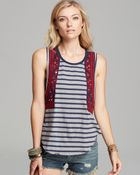 Free People Tank Wear Your Sparkle - Lyst