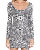 Rachel Pally Long Sleeve Mini Dress - Lyst