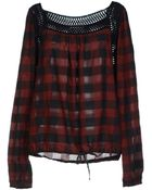 Replay Blouse - Lyst