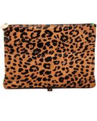 Meli' Melo' Haircalf Daily Lux Pouch - Faded Cheetah - Lyst
