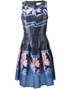Peter Pilotto Woven A-Line Dress - Lyst