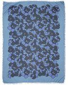 Marc Jacobs Petal-Print Scarf - Lyst