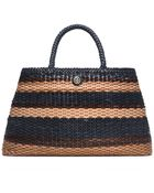 Tory Burch Robinson Basket-Weave Large Slouchy Tote - Lyst