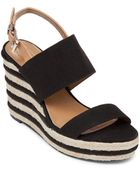 Vince Camuto Open Toe Platform Wedge Espadrille Sandals - Loran - Lyst