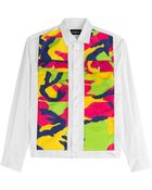DSquared² Cotton Shirt With Camouflage Print - Lyst