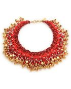 Etro Beaded Necklace - Lyst