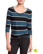 Banana Republic Factory Rugby-Stripe Tee - Lyst