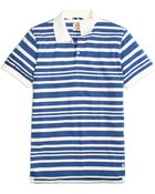 Brooks Brothers Wide Variegated Stripe Polo Shirt - Lyst