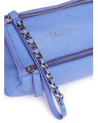 Givenchy Pandora' Leather Wristlet Pouch - Lyst