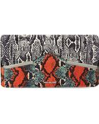 McQ by Alexander McQueen Snake Printed Clutch Bag Bag - For Women - Lyst