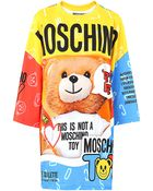Moschino Printed Long Sleeve Dress - Color - Lyst