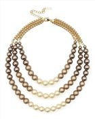 Jaeger Graduated Pearl Necklace - Lyst