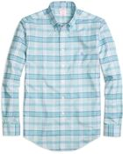 Brooks Brothers Non-Iron Madison Fit Tartan Sport Shirt - Lyst
