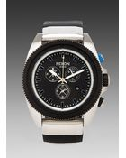 Nixon The Rover Chrono in Black - Lyst