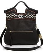Foley + Corinna Foley + Corinna Tote - Mid City Embellished Weave - Lyst