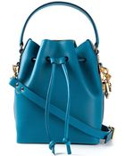 Sophie Hulme Bucket Small Leather Shoulder Bag - Lyst