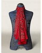 RRL Paisley Scarf - Lyst