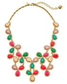 Kate Spade Balloon Bouquet Statement Necklace - Lyst