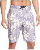 Tommy Hilfiger Waverly Tropical Boardshort - Lyst