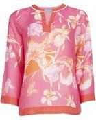 Matthew Williamson Botanical Feather Beach Shirt - Lyst