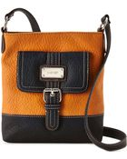 Nine West Tan & Black Rocky Crossbody - Lyst